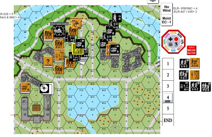 DC pre explosion
