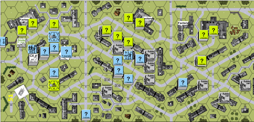 Turn 3 pre-assault